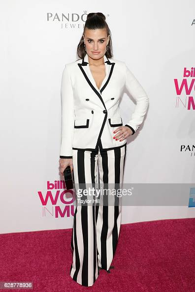 Idina Menzel attends the 2016 Billboard Women in Music Awards at Pier 36 on December 9 2016 in New York City