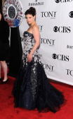Idina Menzel attends the 64th Annual Tony Awards at Radio City Music Hall on June 13 2010 in New York City