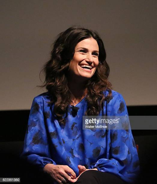 Idina Menzel during the 2016 Tribeca Film Festival Tribeca Talks Storytellers Idina Menzel at SVA Theatre on April 18 2016 in New York City