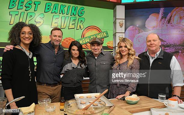 THE CHEW Idina Menzel is the guest Thursday January 19 2017 on ABC's 'The Chew' 'The Chew' airs MONDAY FRIDAY on the ABC Television Network BATALI