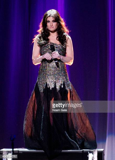 Idina Menzel performs at Radio City Music Hall on June 16 2014 in New York City