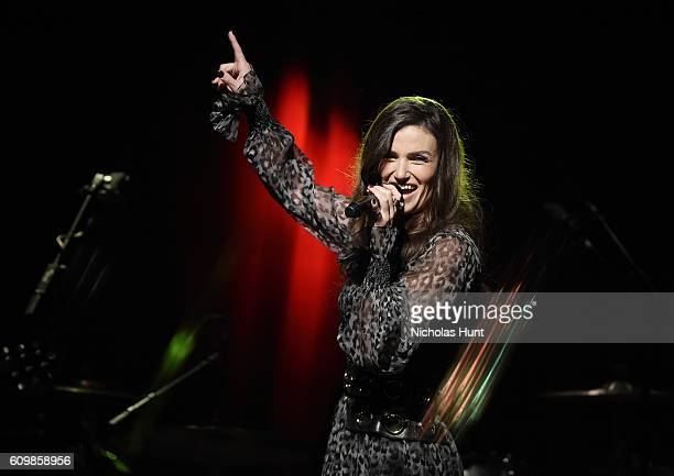Idina Menzel performs in concert to celebrate her new album 'idina' at Brooklyn Bowl on September 22 2016 in New York City