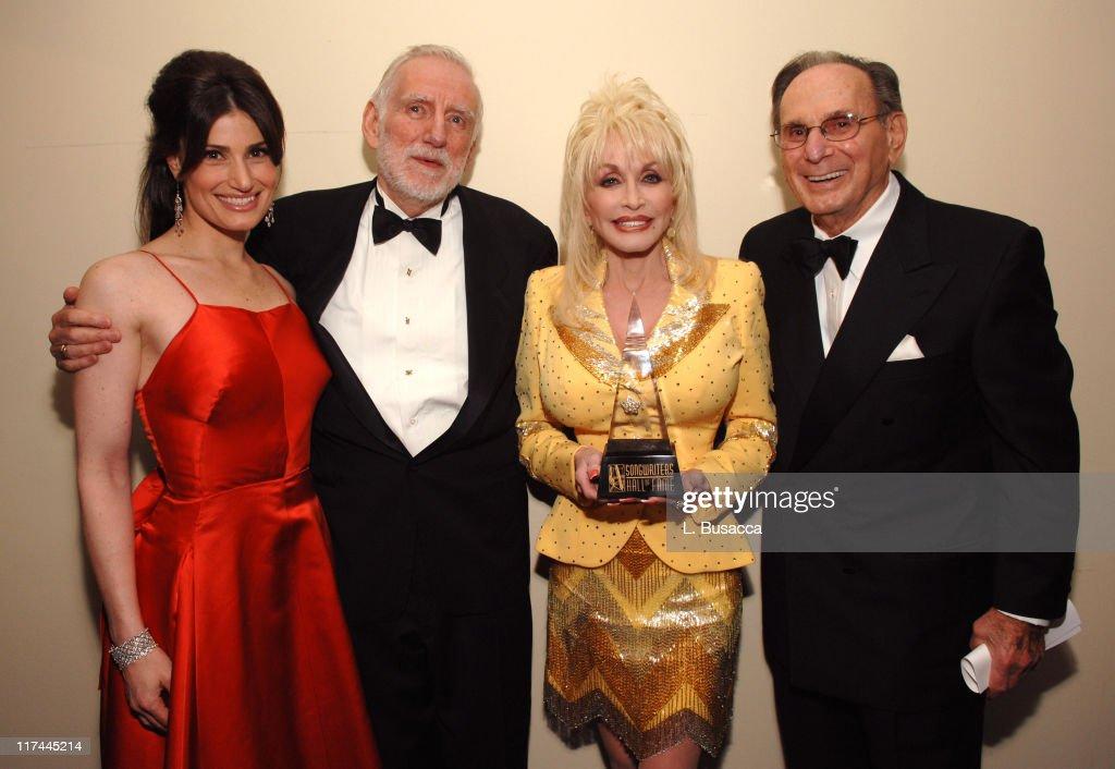 Idina Menzel, Rod McKuen, Dolly Parton and Hal David