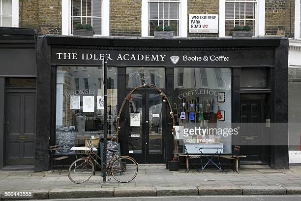 Idler Academy bookshop and cafe on Westbourne Park Road