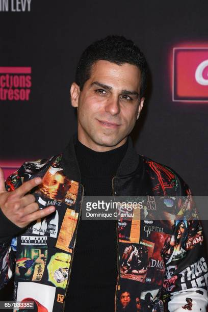 Ido Mosseri attends the 'Gangsterdam' Paris Premiere at Le Grand Rex on March 23 2017 in Paris France