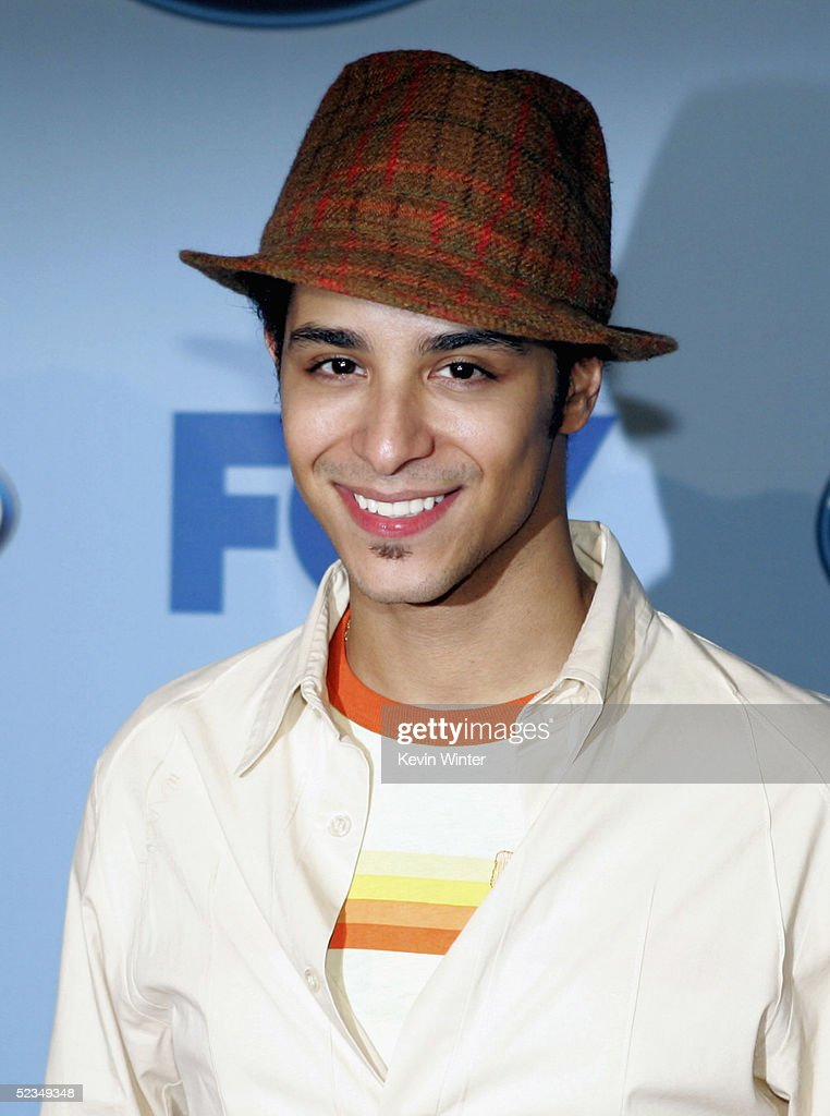 Idol's Mario Vasquez arrives at a party to celebrate the 'American Idol' Top 12 Finalists at Astra West on March 9, 2005 in West Hollywood, California.