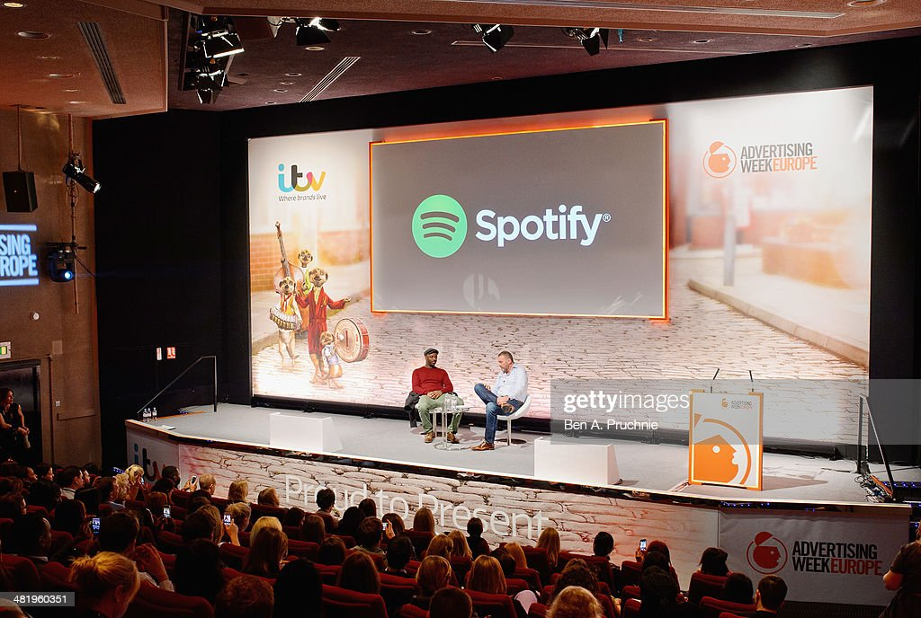 <a gi-track='captionPersonalityLinkClicked' href=/galleries/search?phrase=Idris+Elba&family=editorial&specificpeople=215443 ng-click='$event.stopPropagation()'>Idris Elba</a> and Chris Maples, Spotify, VP Europe speak on stage at the Spotify in Conversation with <a gi-track='captionPersonalityLinkClicked' href=/galleries/search?phrase=Idris+Elba&family=editorial&specificpeople=215443 ng-click='$event.stopPropagation()'>Idris Elba</a> on the ITV Stage at Princess Anne during day three of Advertising Week Europe held at BAFTA 195 Piccadilly on April 2, 2014 in London, England.