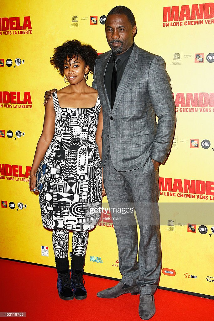 <a gi-track='captionPersonalityLinkClicked' href=/galleries/search?phrase=Idris+Elba&family=editorial&specificpeople=215443 ng-click='$event.stopPropagation()'>Idris Elba</a> and Lindiwe Matshikiza attend 'Mandela : Long Walk to Freedom' Paris Premiere at UNESCO on December 2, 2013 in Paris, France.