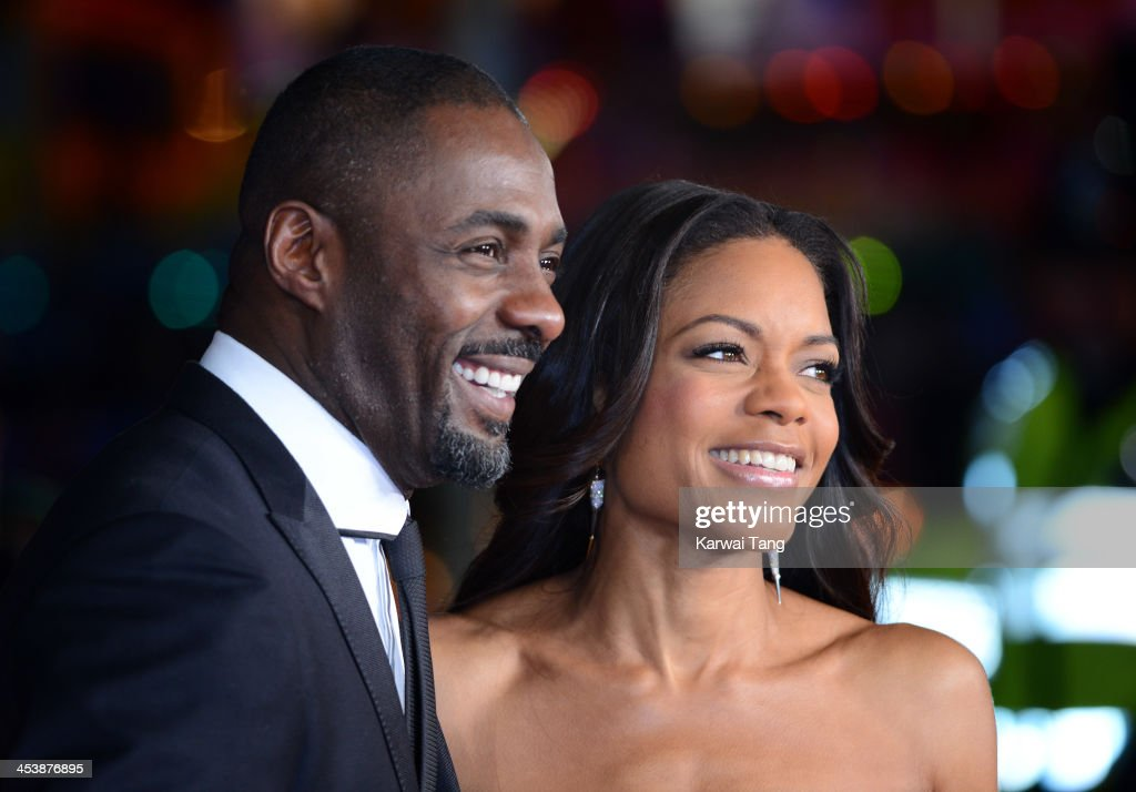 <a gi-track='captionPersonalityLinkClicked' href=/galleries/search?phrase=Idris+Elba&family=editorial&specificpeople=215443 ng-click='$event.stopPropagation()'>Idris Elba</a> and <a gi-track='captionPersonalityLinkClicked' href=/galleries/search?phrase=Naomie+Harris&family=editorial&specificpeople=238918 ng-click='$event.stopPropagation()'>Naomie Harris</a> attend the Royal film performance of 'Mandela: Long Walk To Freedom' held at the Odeon Leicester Square on December 5, 2013 in London, United Kingdom.