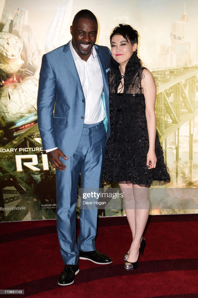 <a gi-track='captionPersonalityLinkClicked' href=/galleries/search?phrase=Idris+Elba&family=editorial&specificpeople=215443 ng-click='$event.stopPropagation()'>Idris Elba</a> and <a gi-track='captionPersonalityLinkClicked' href=/galleries/search?phrase=Rinko+Kikuchi&family=editorial&specificpeople=616782 ng-click='$event.stopPropagation()'>Rinko Kikuchi</a> attend the European premiere of 'Pacific Rim' at The BFI IMAX on July 4, 2013 in London, England.