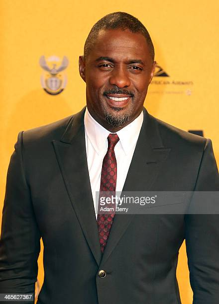 Idris Elba arrives for the premiere of the film 'Mandela Long Walk to Freedom' at Zoo Palast on January 28 2014 in Berlin Germany