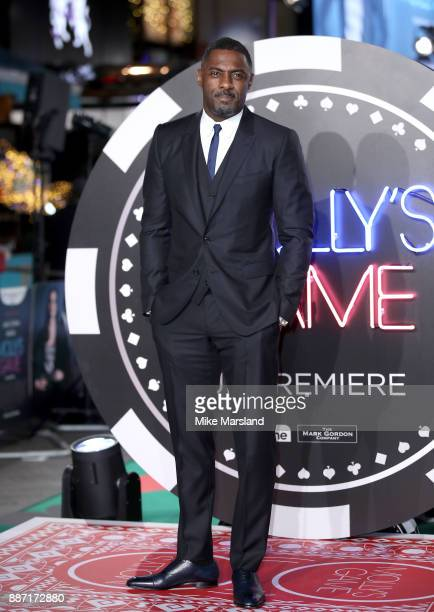 Idris Elba attending the 'Molly's Game' UK premiere held at Vue West End on December 6 2017 in London England