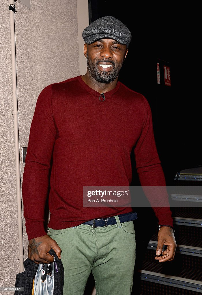 Idris Elba attends day three of Advertising Week Europe held at BAFTA 195 Piccadilly on April 2, 2014 in London, England.