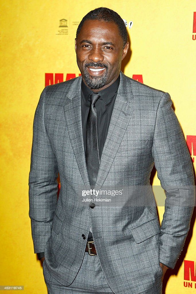 <a gi-track='captionPersonalityLinkClicked' href=/galleries/search?phrase=Idris+Elba&family=editorial&specificpeople=215443 ng-click='$event.stopPropagation()'>Idris Elba</a> attends 'Mandela : Long Walk to Freedom' Paris Premiere at UNESCO on December 2, 2013 in Paris, France.