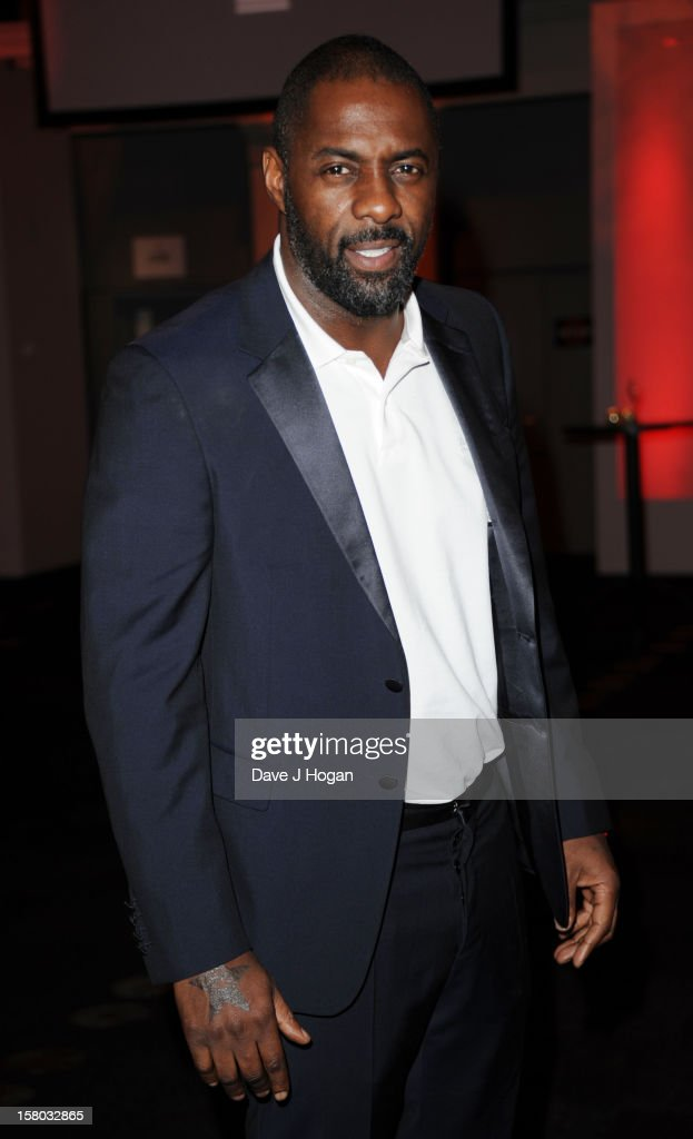 Idris Elba attends the British Independent Film Awards at Old Billingsgate in London on December 9, 2012 in London, England.