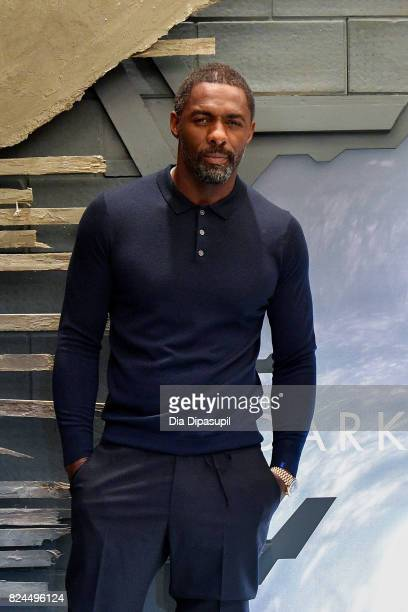 Idris Elba attends 'The Dark Tower' photocall at the Whitby Hotel on July 30 2017 in New York City