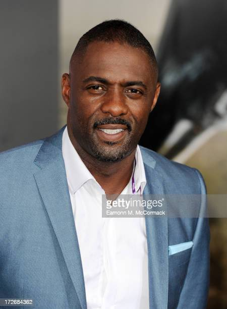 Idris Elba attends the European Premiere of 'Pacific Rim' at BFI IMAX on July 4 2013 in London England