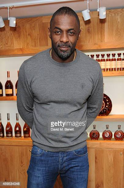 Idris Elba attends the launch of La Maison Remy Martin members club on November 24 2014 in London England