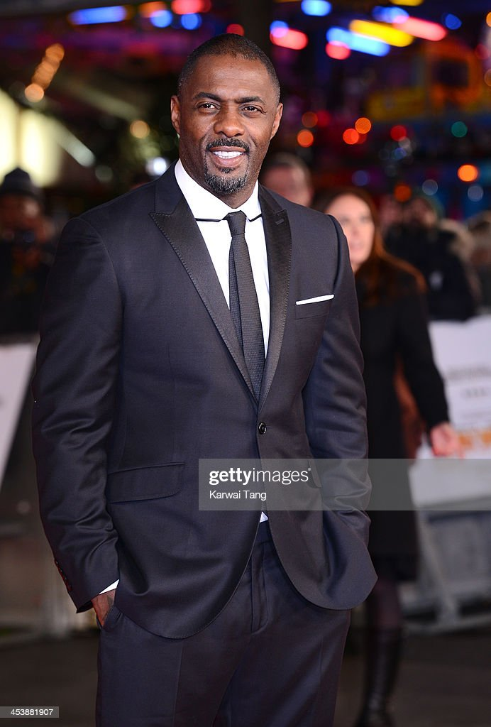 <a gi-track='captionPersonalityLinkClicked' href=/galleries/search?phrase=Idris+Elba&family=editorial&specificpeople=215443 ng-click='$event.stopPropagation()'>Idris Elba</a> attends the Royal film performance of 'Mandela: Long Walk To Freedom' held at the Odeon Leicester Square on December 5, 2013 in London, United Kingdom.
