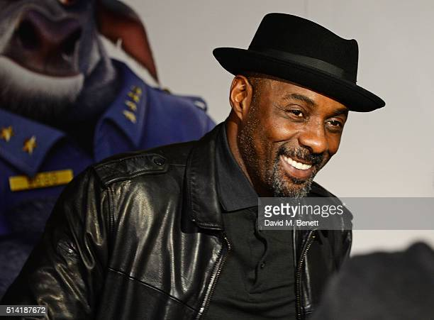 Idris Elba attends the UK Gala Screening of 'Zootropolis' at Hackney Picturehouse on March 7 2016 in London England