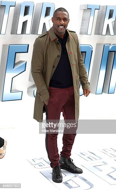 Idris Elba attends the UK Premiere of 'Star Trek Beyond' at Empire Leicester Square on July 12 2016 in London England