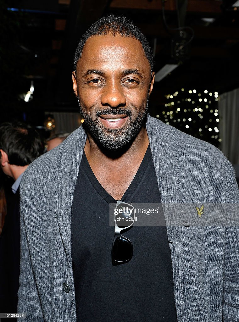 <a gi-track='captionPersonalityLinkClicked' href=/galleries/search?phrase=Idris+Elba&family=editorial&specificpeople=215443 ng-click='$event.stopPropagation()'>Idris Elba</a> attends the Weinstein Company's holiday party at RivaBella on November 21, 2013 in West Hollywood, California.