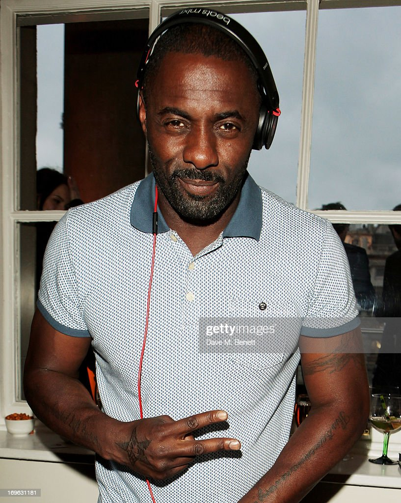 Idris Elba DJ's at attends the Esquire Summer Party in association with Stella Artois at Somerset House on May 29, 2013 in London, England.
