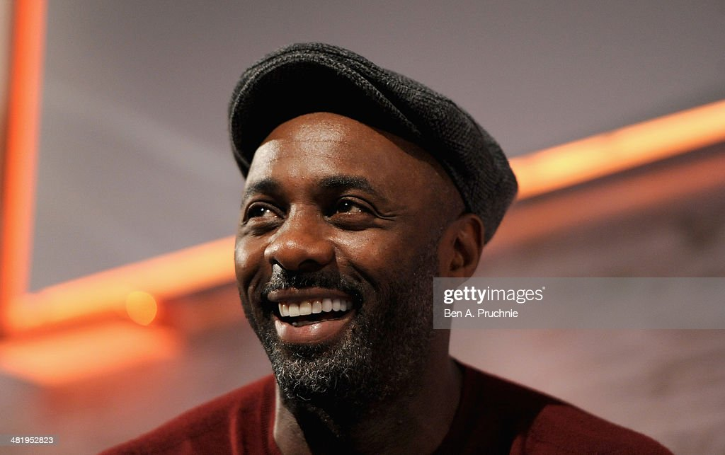 Idris Elba speaks on stage at the Spotify in Conversation with Idris Elba on the ITV Stage at Princess Anne during day three of Advertising Week Europe held at BAFTA 195 Piccadilly on April 2, 2014 in London, England.