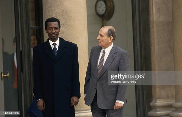 Idriss Deby In Paris On December 2nd 1991