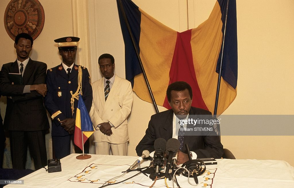 <a gi-track='captionPersonalityLinkClicked' href=/galleries/search?phrase=Idriss+Deby&family=editorial&specificpeople=4605749 ng-click='$event.stopPropagation()'>Idriss Deby</a> In Paris On December 2nd, 1991.