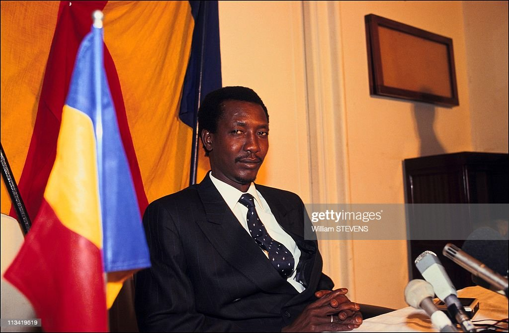 Idriss Deby In Paris On December 2nd, 1991.
