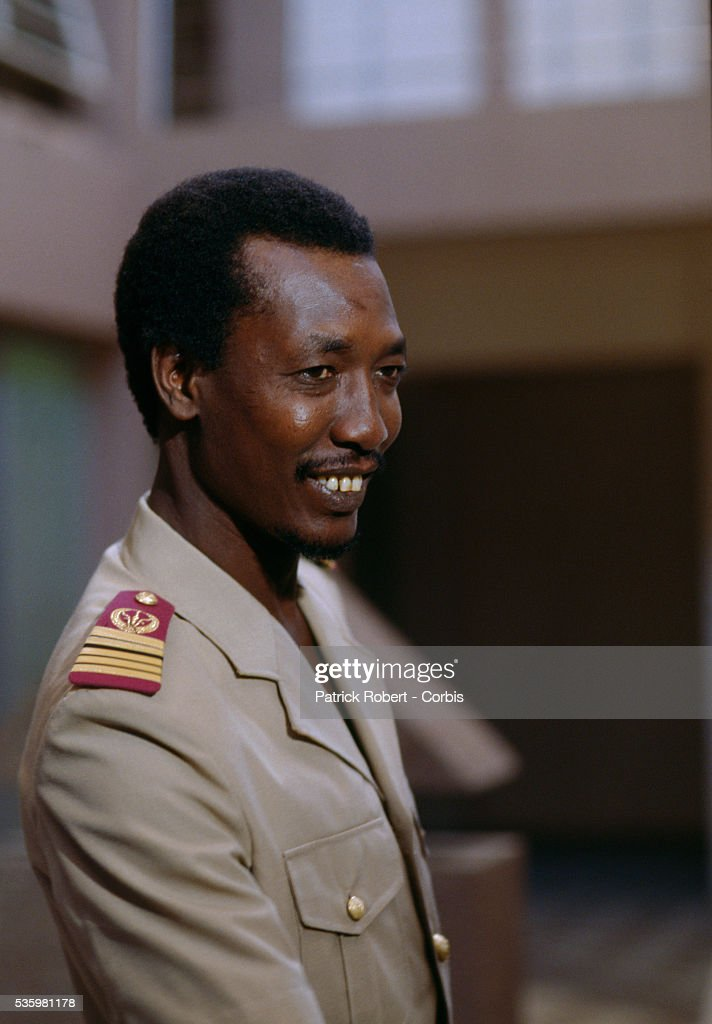 <a gi-track='captionPersonalityLinkClicked' href=/galleries/search?phrase=Idriss+Deby&family=editorial&specificpeople=4605749 ng-click='$event.stopPropagation()'>Idriss Deby</a>, leader of the Forces Armées Nationales Chadiennes (FANT), or National Army of Chad, seizes control of the country. The FANT rebellion seized power from head of state Hissen Habre in a French- and Libyan-backed military coup. Deby later won the first multi-party Chadian presidential vote in 1996.