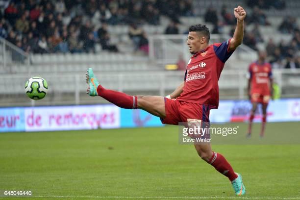 Idriss SAADI Auxerre / Ajaccio 13e journee de Ligue 2 Photo Dave Winter / Icon Sport