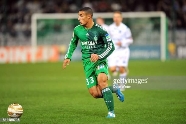 Idriss SAADI Auxerre / Saint Etienne 1/4 de Finale Coupe de la Ligue Photo Dave Winter / Icon Sport
