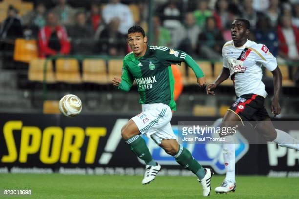 Idriss SAADI Saint Etienne / Nice 16eme Finale Coupe de la Ligue Stade Geoffroy Guichard