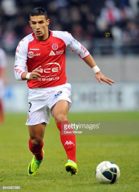 Idriss SAADI Reims / Angers 21e journee de Ligue 2 Photo Dave Winter / Icon Sport