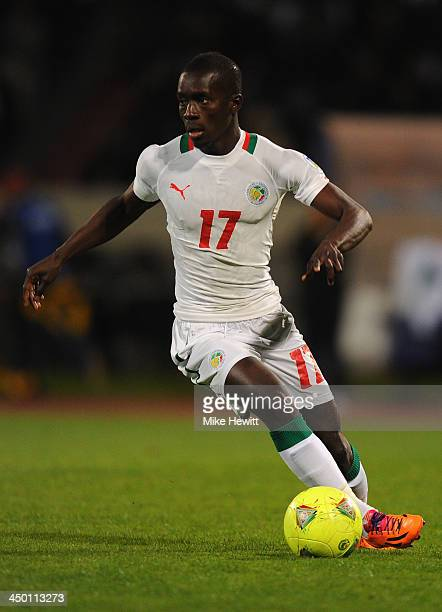 Idrissa Gana Gueye of Senegal in action during the FIFA 2014 World Cup Qualifier Playoff Second Leg between Senegal and Ivory Coast at Stade Mohammed...