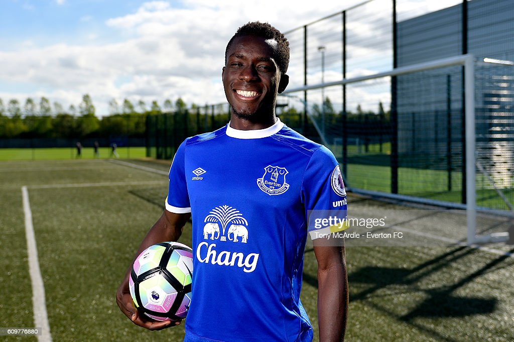 Idrissa Gueye Photocall : News Photo