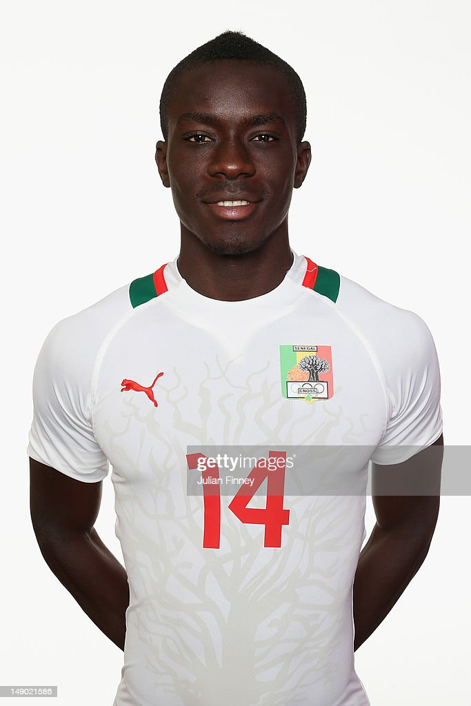 <a gi-track='captionPersonalityLinkClicked' href=/galleries/search?phrase=Idrissa+Gueye&family=editorial&specificpeople=7312174 ng-click='$event.stopPropagation()'>Idrissa Gueye</a> of Senegal poses during a portrait session on July 22, 2012 in Manchester, England.