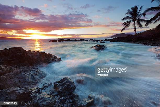 idylic maui coastline - hawaii