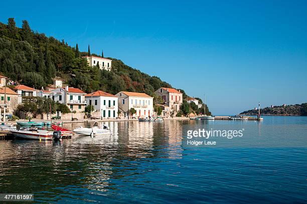 Idyllic fishing village