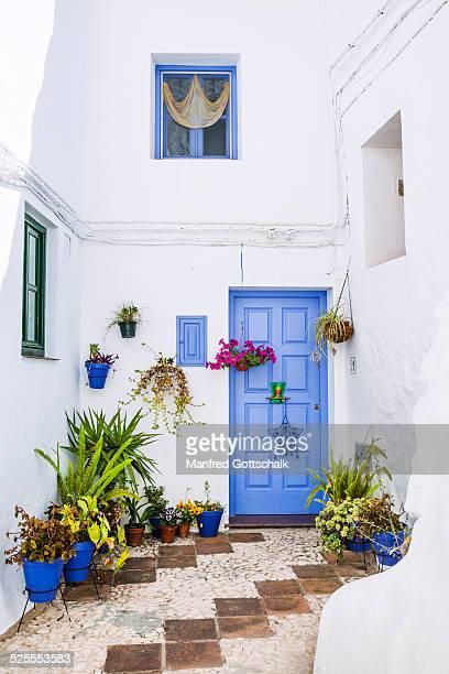 idyllic Frigiliana courtyard