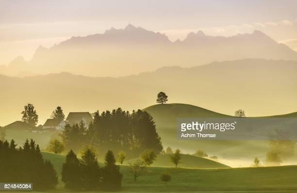 Idyllic landscape, Switzerland, Europe, Säntis