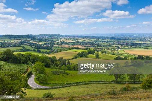 Idyllic rural, Cotswolds UK