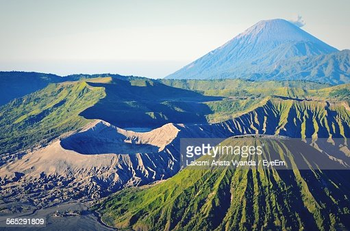 Idyllic Shot Of Mt Bromo Landscape
