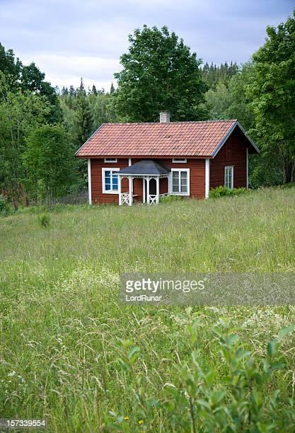 Idyllische Sommer house