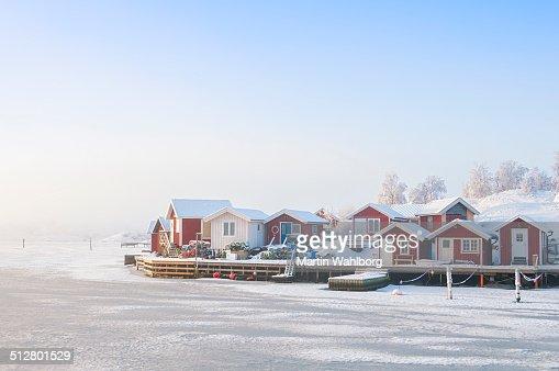 Idyllic Swedish coast
