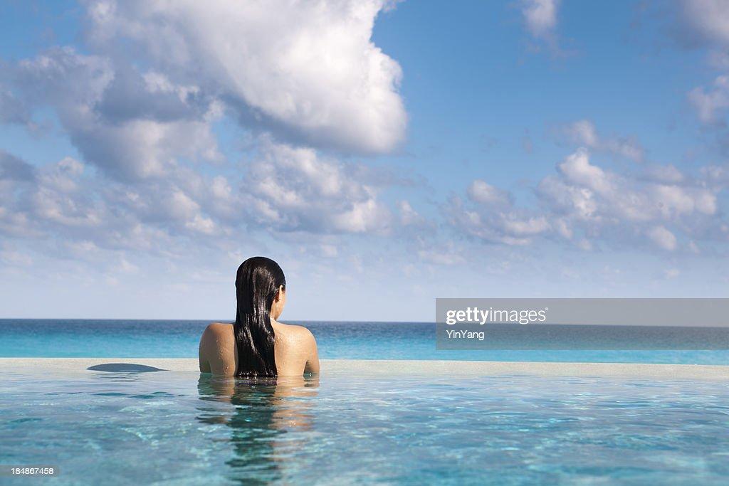 Idyllic Vacation in Caribbean Resort Hotel Pool Hz