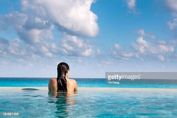 Idyllic Vacation in Caribbean Resort Hotel Pool Hz
