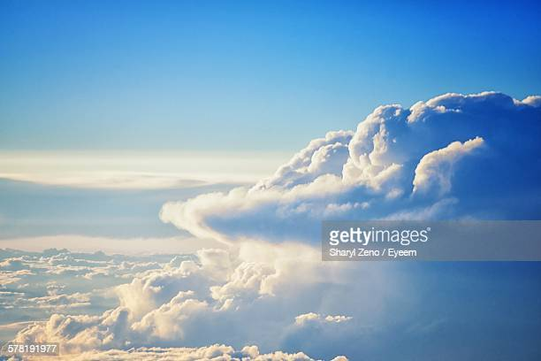 Idyllic View Of Cloudscape In Blue Sky